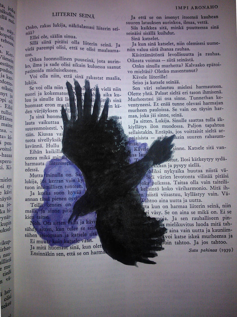 raven by Samiira-Sikuriina