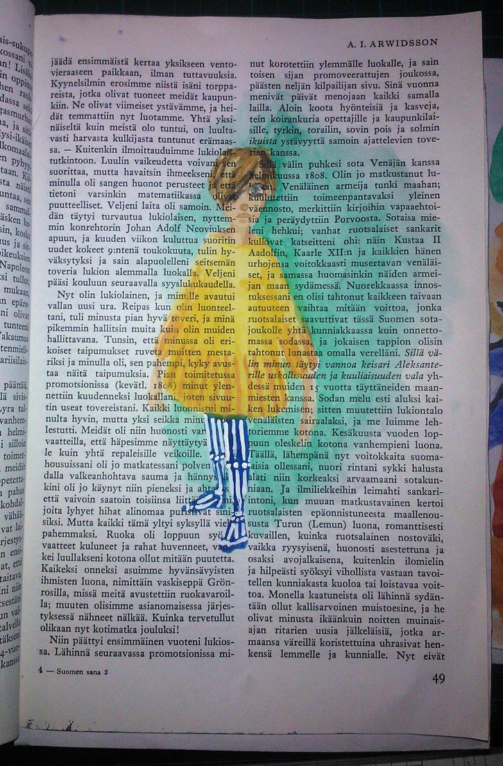 stripes by Samiira-Sikuriina