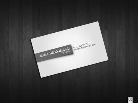 Business card Hegouaburu