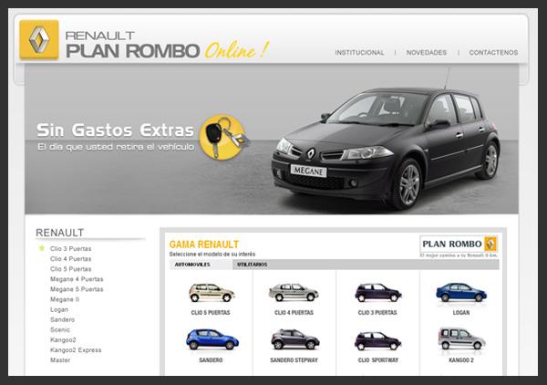Renault Plan Rombo Online by S0LANGE