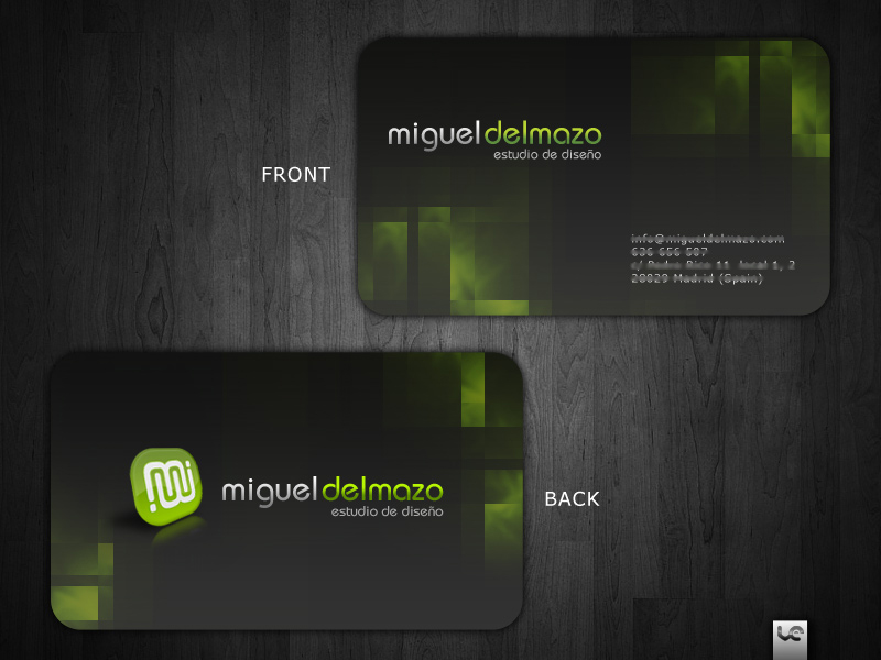 Miguel Del Mazo Business Card by S0LANGE