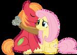 Fluttershy and Big Mac