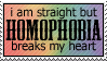 Homophobia by paramoreSUCKS