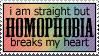 Homophobia by paramoreSUCKS