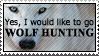 Wolf hunting by paramoreSUCKS