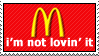 Not Lovin' It by paramoreSUCKS