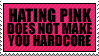 The War on Pink by paramoreSUCKS