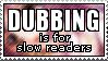 Sub before Dub by paramoreSUCKS