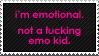 Emotional by paramoreSUCKS