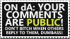 Public comments by paramoreSUCKS