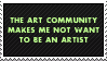 The Art Community by paramoreSUCKS