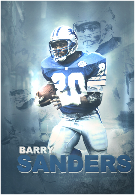Barry Sanders By Jt0323
