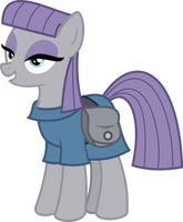 Maud Pie by ValoranVectors