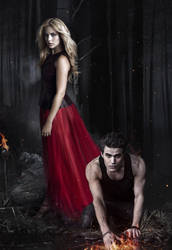 The Vampire Diaries by Gun4ux