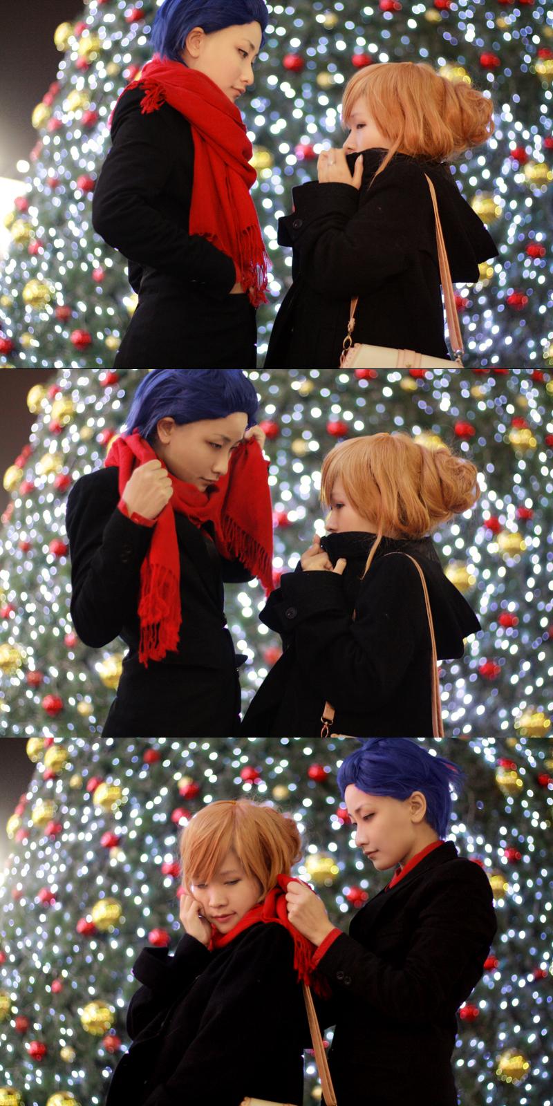 Toradora_Saa Christmast by Dan-Gyokuei