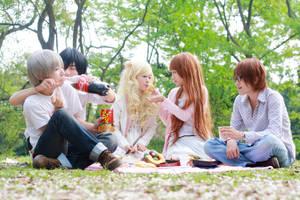 HnC_green days by Dan-Gyokuei