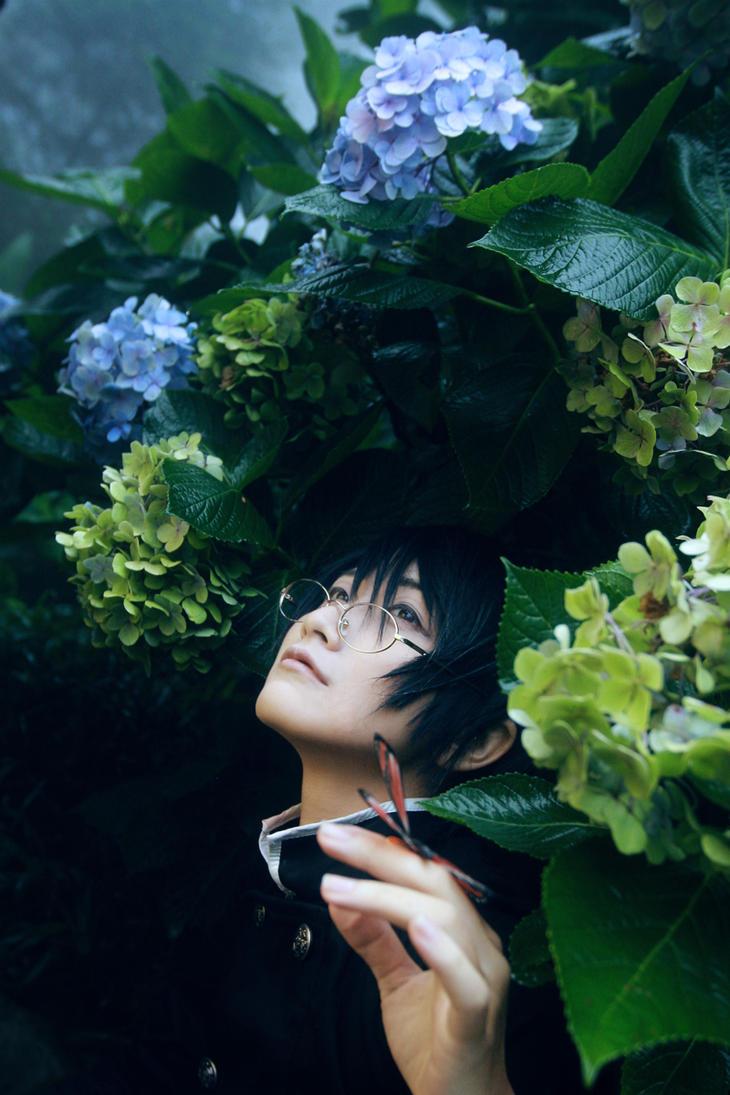 xxxHolic_Hydrangeas by Dan-Gyokuei
