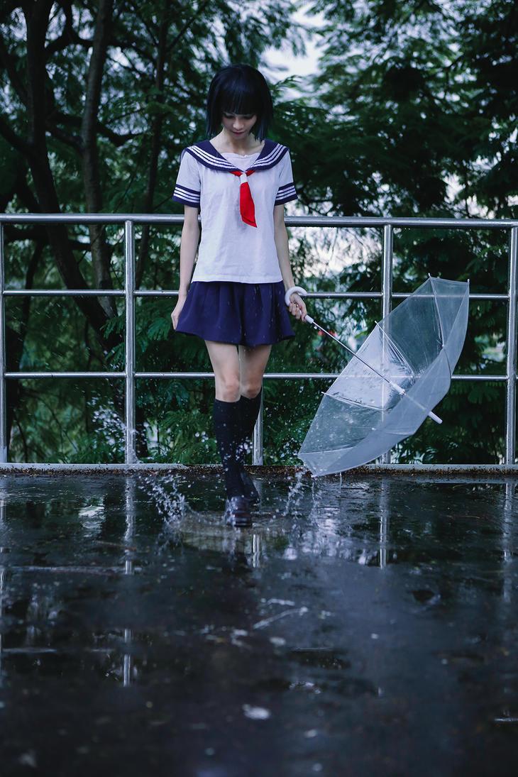 rain stops, good bye by Dan-Gyokuei