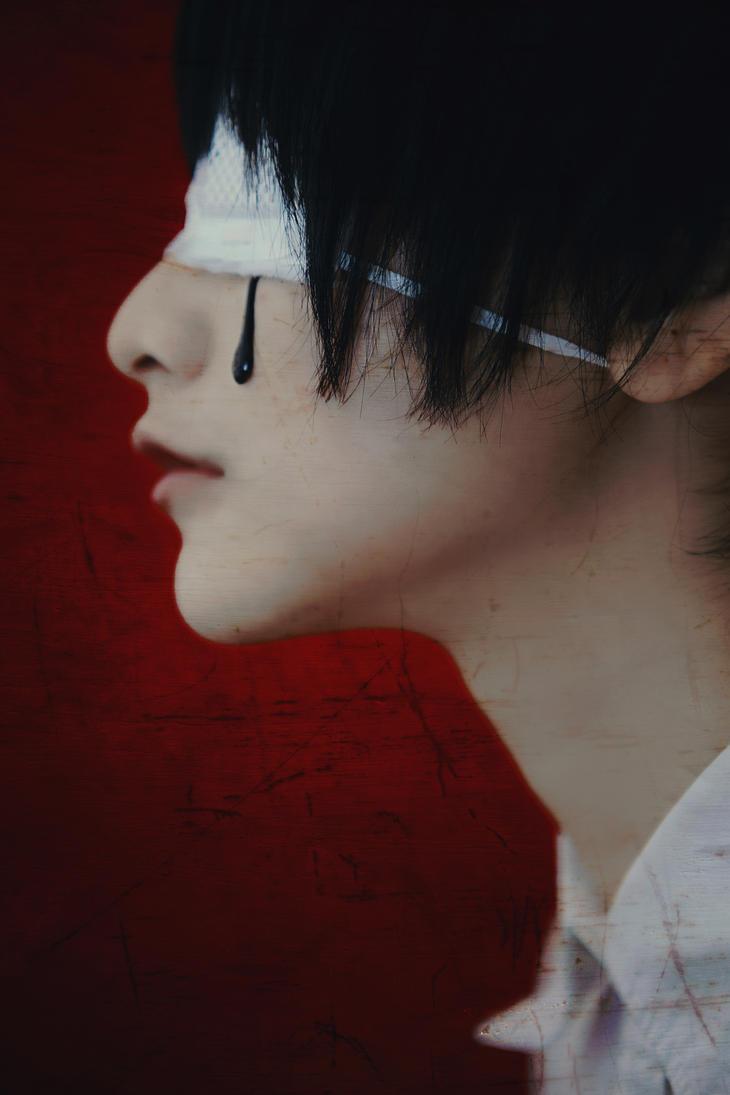 [Tokyo Ghoul]_Ken Kaneki by Dan-Gyokuei