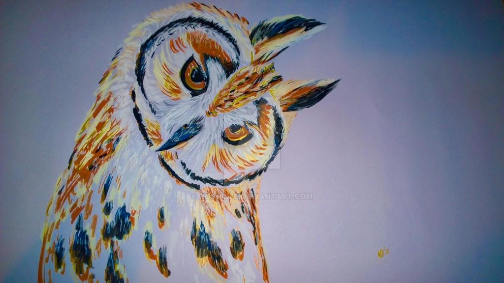 Owl 1 by HoshiDee