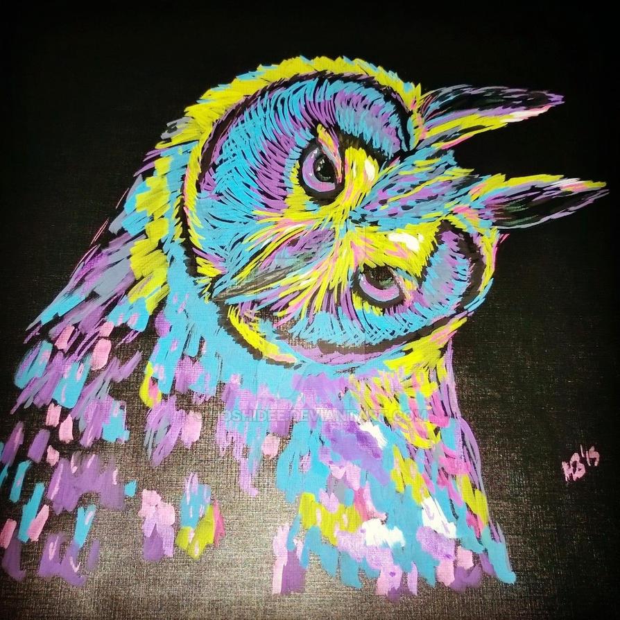 Owl 2 by HoshiDee