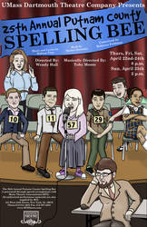 Spelling Bee Poster by SuburbanFreeflow