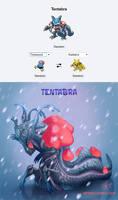 Pokemon Fusions - Tentabra by YelZamor