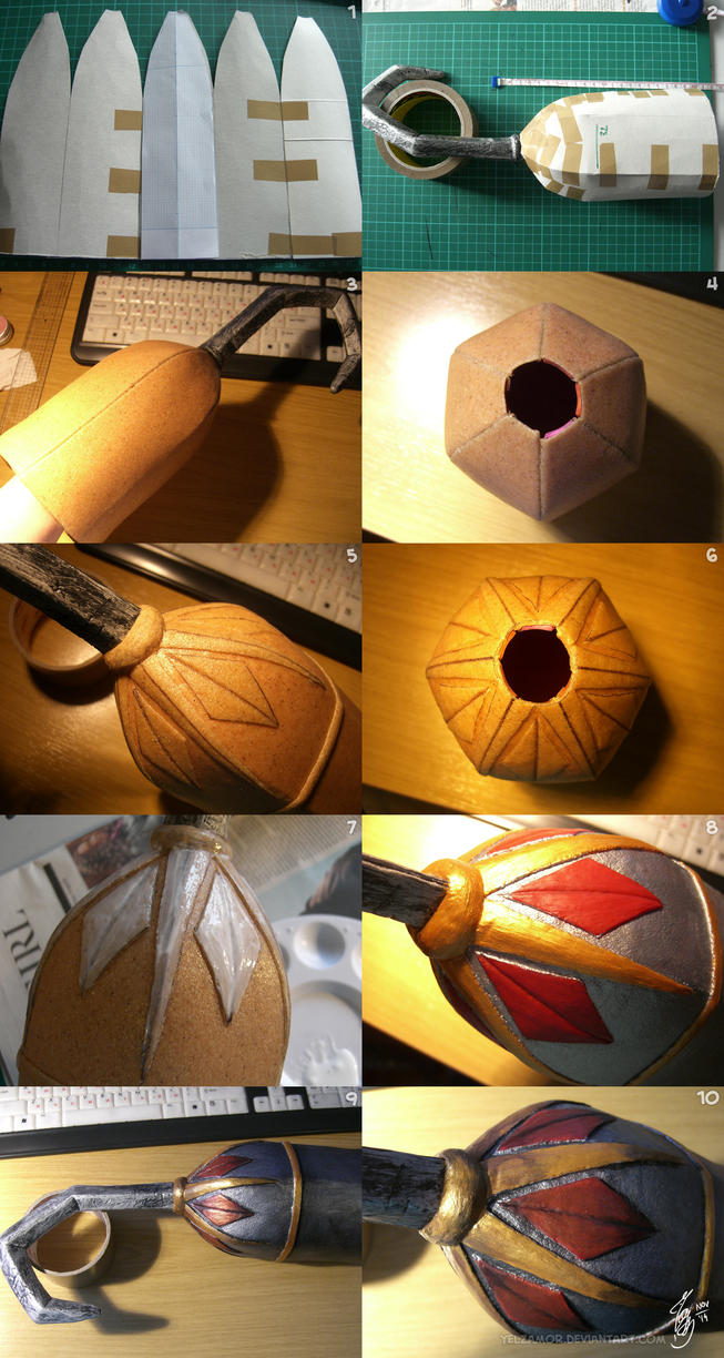 Hook Bell prop build by YelZamor