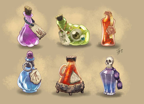 DnD Potions