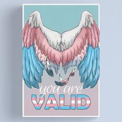 Trans Pride Wings