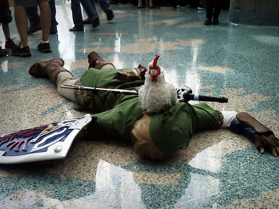 Cucco Defeat by triforcechiq