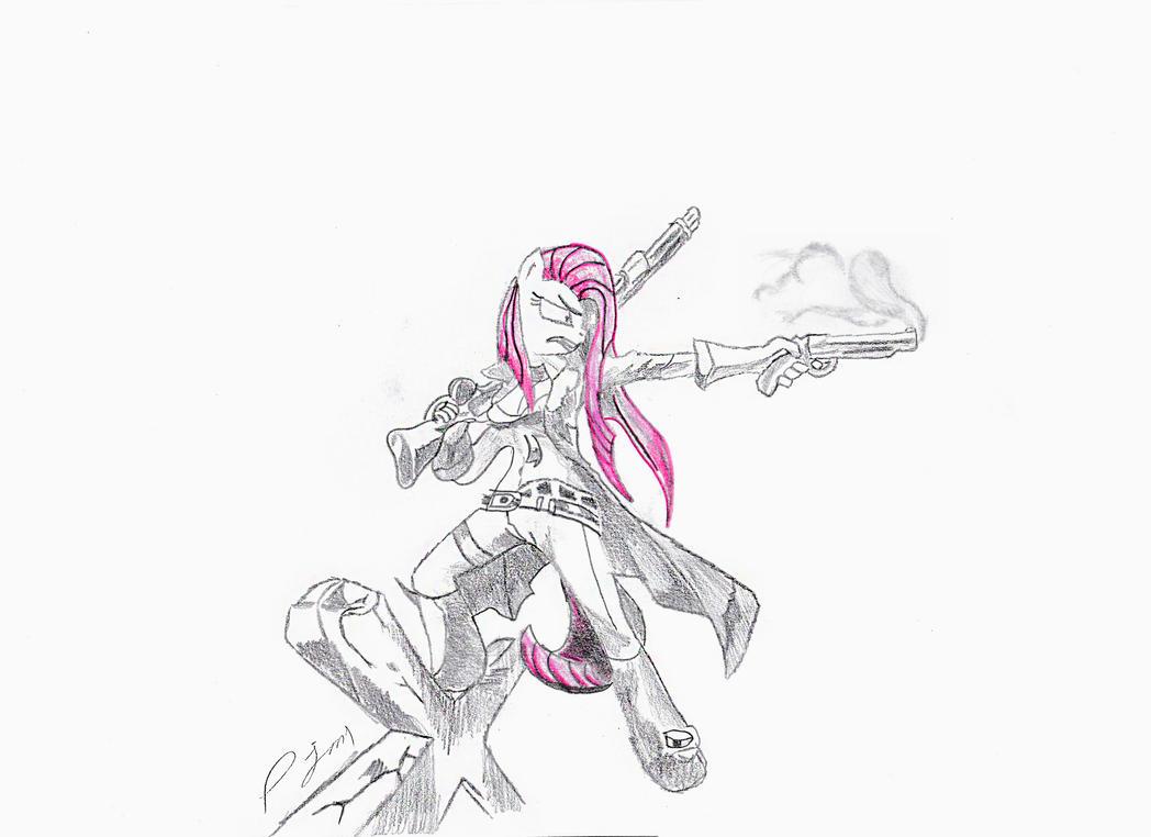 Pinkaslinger by prodigyjm1