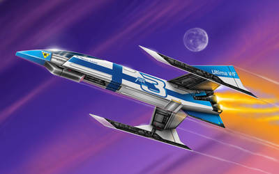 No.3 Ultima WF - Astro Racer by alien99