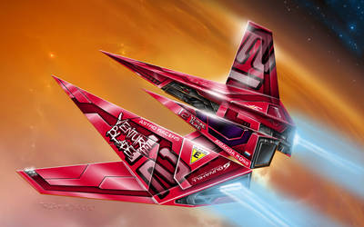 No.12 Venture Blade - Astro Racer by alien99