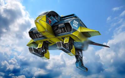 No.16 Cheyenne - Astro Racer by alien99