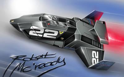 No.22 Lambogiaro II - Astro Racer by alien99