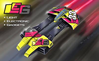 No.33 LEG craft - Astro Racer by alien99