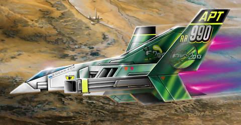 No.990 Open Fan Racer - Astro Racer by alien99
