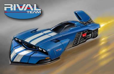 No.2 Rival RTX - Astro Racer by alien99