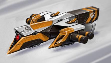 No.9 D9 Racer - Astro Racer by alien99