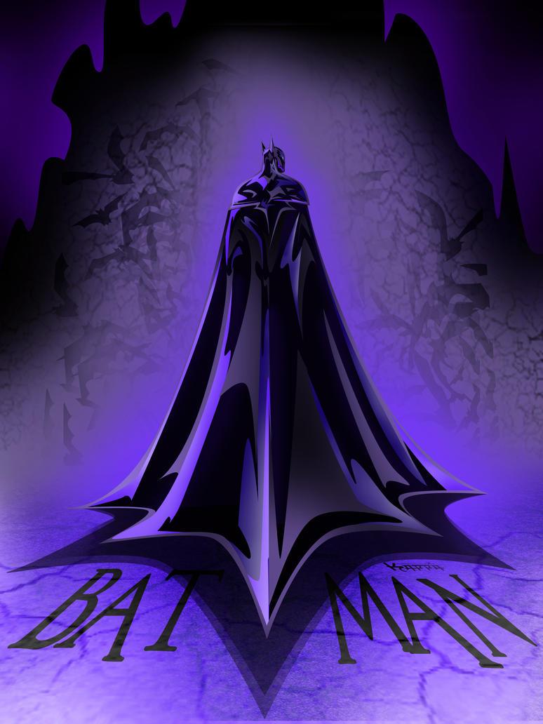 Bat Man Schiena by KAPPA-elamARTcore