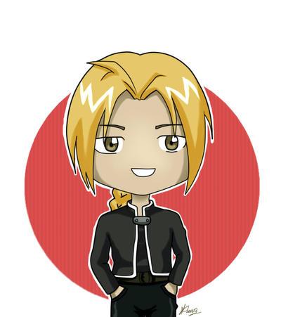 Edward chibi Fullmetal alchemist by Mizukii-C
