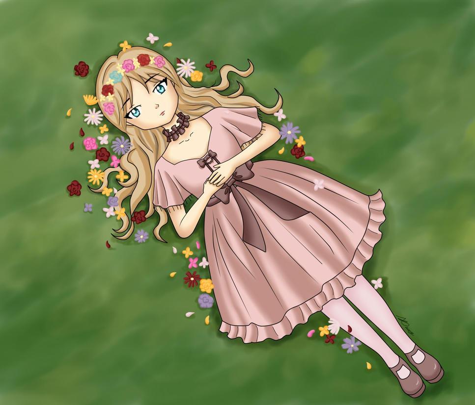 les fleurs by Mizukii-C