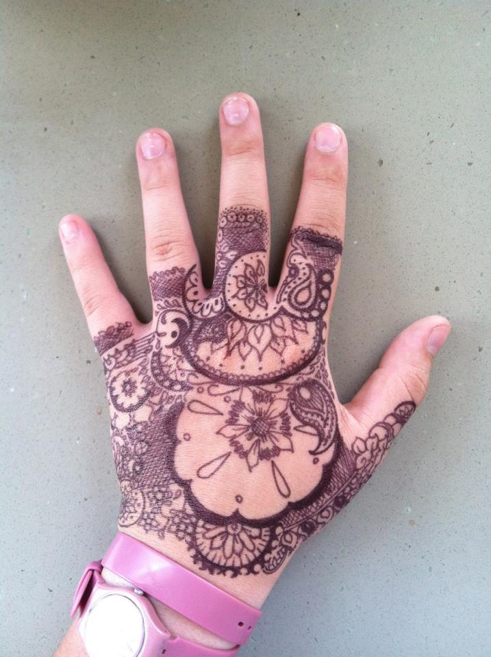Hand Sharpie Art By KeelerBeez On DeviantArt