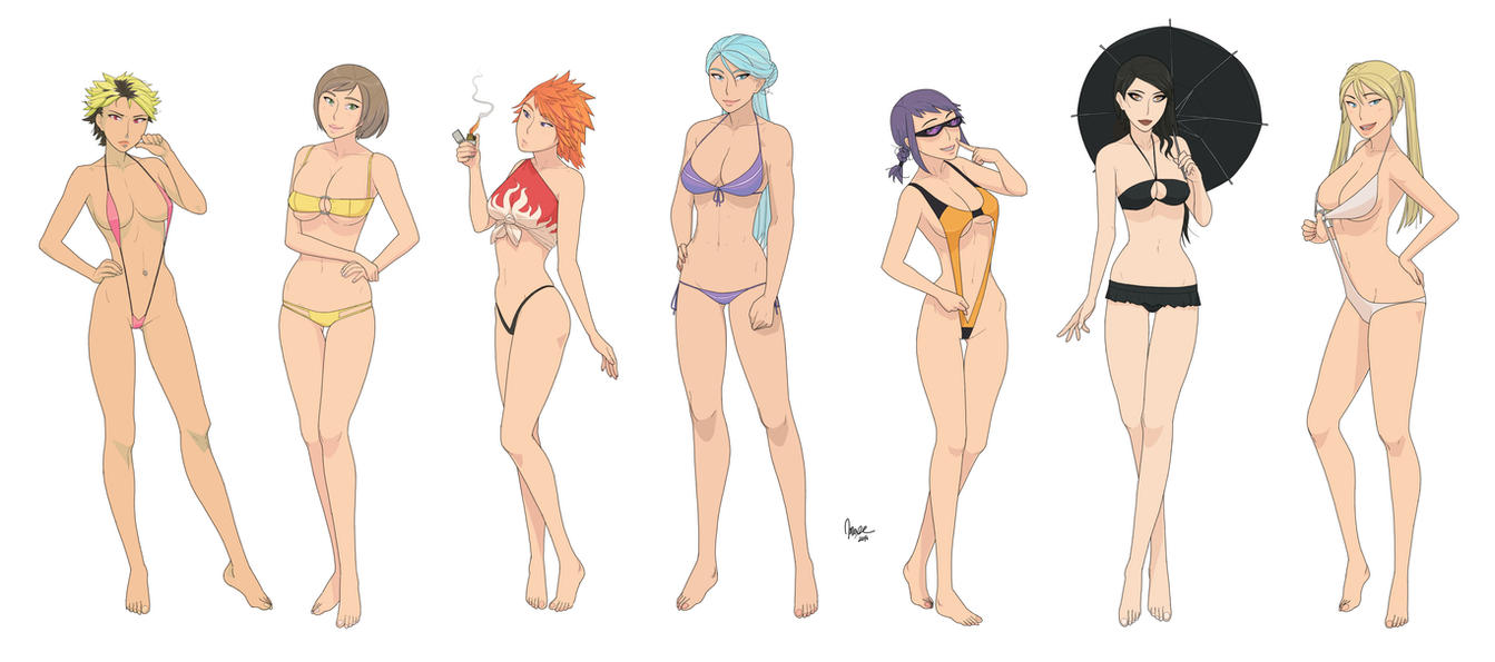 Hades Rebels Girls by ad2010