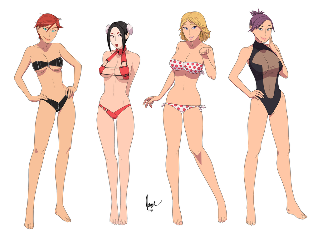 Rose, Ju-Lee, Peggy, and Stella by ad2010