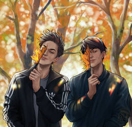 The first day of autumn 2020