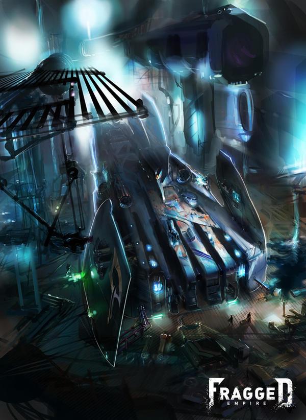 Kaltoran Spacecraft by Fragged-Empire
