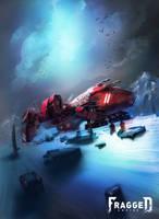 Legion Spacecraft by Fragged-Empire
