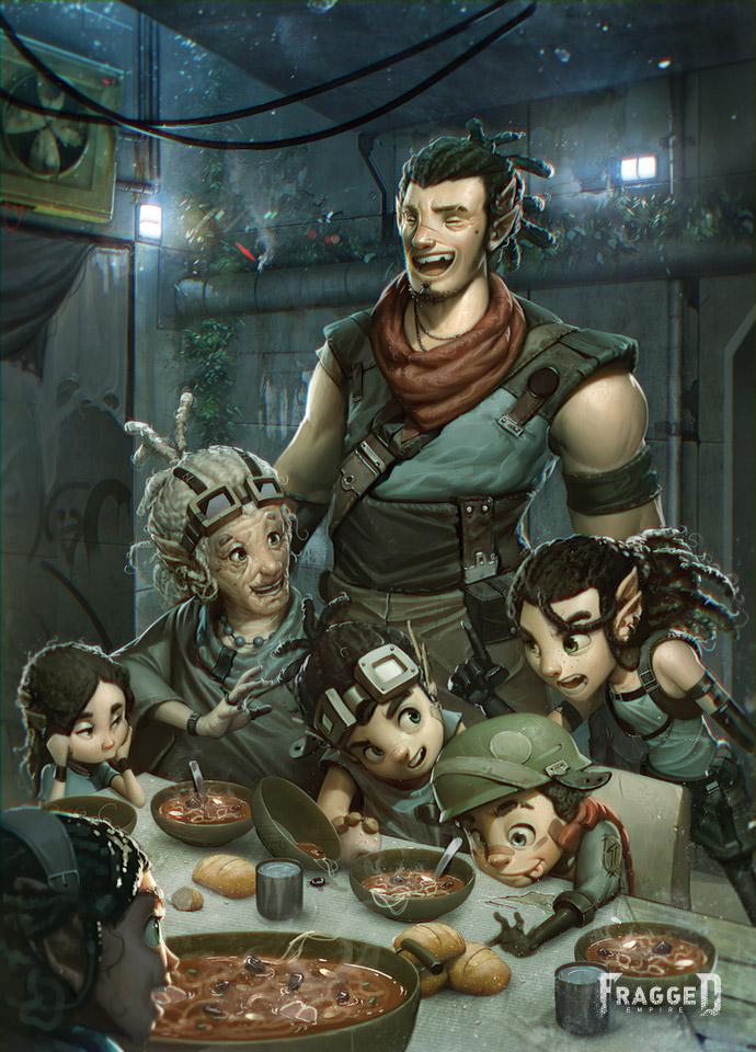 Kaltoran Family by Fragged-Empire